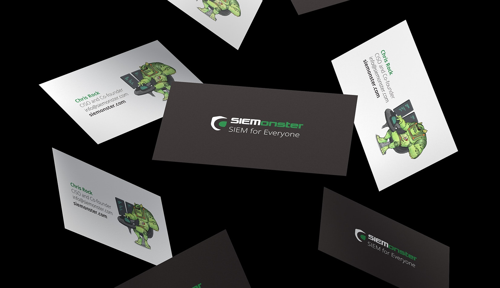 SIEMonster business cards